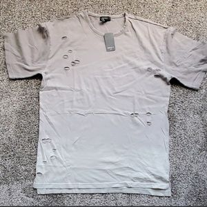 NWT Distressed Forever 21 shirt